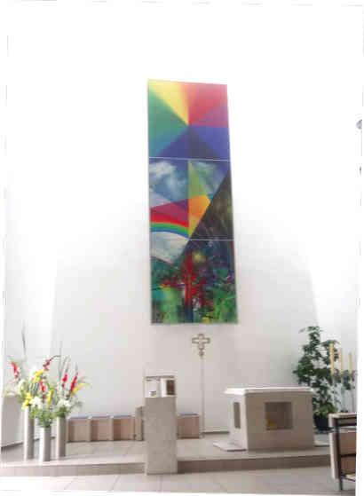 in der Autobahnkirche Himmelkron