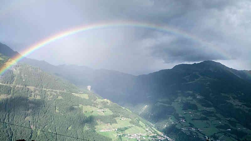 Regenbogen über Matrei i. O.