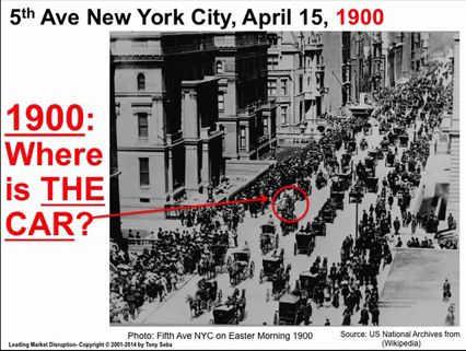 New York City 1900 - Wo ist das Auto?