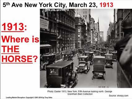 New York City 1913 - Wo ist das Pferd?