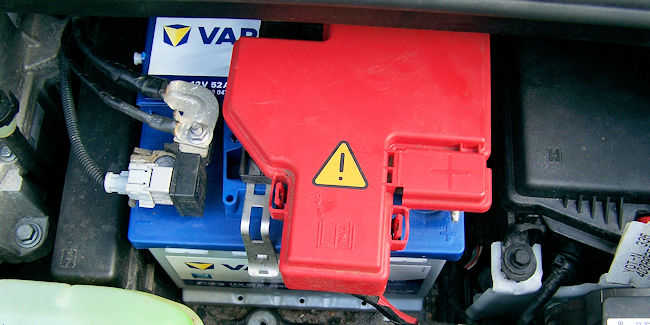 neue 12V-Batterie