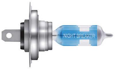Osram Night Breaker Laser Next Generation Leuchte mit Beschriftung