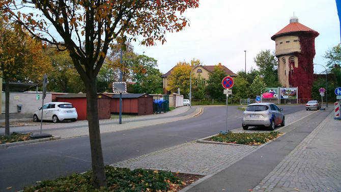 ZOE am GWG-Ladepunkt in Görlitz